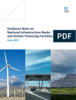 Guidance note on national infrastructure banks
