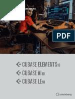 Cubase Elements LE AI 10 Manual de Operaciones Es