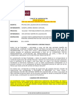 Ficha No. Sandra Lorena Obando