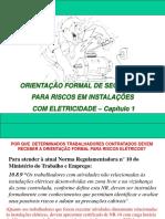 Cap. 1 (Introdução - Eletricidade, Choque, P. Socorros