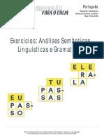 EmpurraoparaoEnem Portugues Exercicios Analises Semanticas Linguisticas Gramaticais 18-10-2016