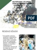 gestión de residuos sólidos