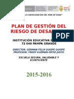 Plan de Cgrd Pampa Grande 2016 Of