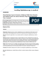 A new model for teaching Opthalmoscopy to medical students.pdf
