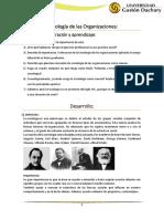 Sociología de las Organizaciones TP.docx
