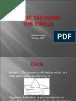 Conic Sections Circles FCIT Compat