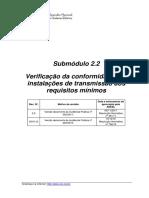 NT 041 ANEXO II 2019 Submodulo 2.2 Verificacao Da Conformidade Das Instalacoes