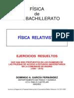 FÍSICA RELATIVISTA - PAU