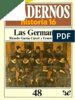 Garcia Carcel, Ricardo; Belenguer, Ernest. - Las Germanias [2017]