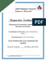 Diagnostico Institucional PFC