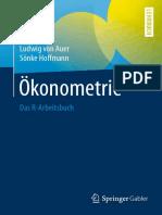 Ökonometrie Das R Arbeitsbuch