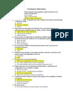 Cuestionario 10mo básico