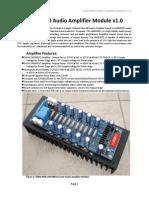 Audio amplifier