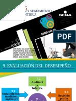 Norma ISO 9001 2105 Capitulo 9 y 10