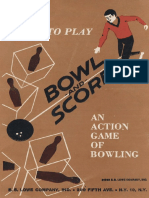 Bowl and Score Rules