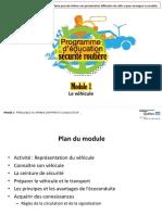 Module 1 Vehicule 2019
