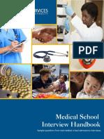Medical School Interview Questions