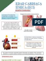 cardiopatía isquémica crónica