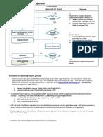Process Flow to Obtain PI