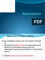 Front Office Reservation powerpoint