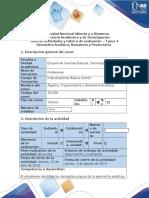 Guía de actividades y rubrica de evaluación - Tarea 4 - Desarrolar ejercicios Unidad 3