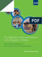 Saemaul Undong Movement Korea (Gerakan Saemaul Undoeng)