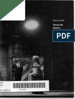 SZONDI, Peter - Teoria Do Drama Moderno 1880 - 1950