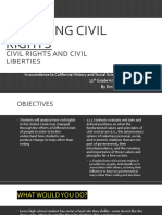 changing civil rights