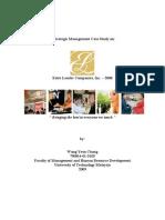 MHM1523-Ind Assignment-Estee Lauder Companies, Inc-Wong Yean Chong-1