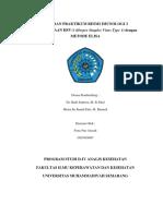 Laporan praktikum Imunnologi (HSV IgM)
