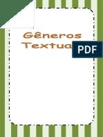 GENEROS TEXTUAIS CARTAZ