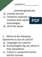 Quiz Culture