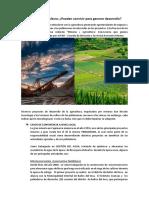Minería y Agricultura