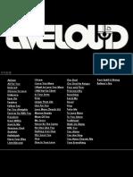 Liveloud Songboard