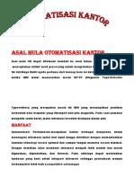 ASAL MULA OTOMATISASI KANTOR.docx