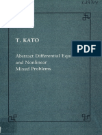 (Lezione Fermiane.) Katō, Tosio - Abstract Differential Equations and Nonlinear Mixed Problems-Scuola Normale Superiore (1985)
