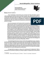 CAMPO DEL PODER Y REPRODUCCIÓN SOCIAL. Elementos para un análisis de la dinámica de las clases.