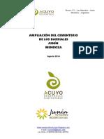 Proyecto Rediseño Cementerio JUNIO 2015