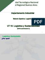 Ut10 - Logistica Sustentable 2018-2cuat