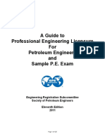 A Guide to Professional Engineering Exam