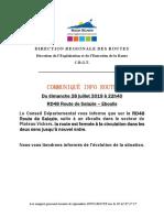 20190728 - RD48 Rte de Salazie - Fermeture Suite Éboulis