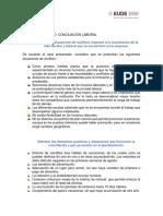 Caso Practico - Conciliacion Laboral