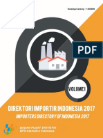 Direktori Importir Indonesia 2017 Jilid I
