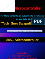 8051 Microcontroller basics by Er. Swapnil V. Kaware