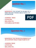 True or False q and a Part 1