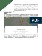Laporan Sistem Informasi Geografis