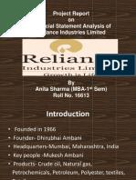 Project Report Anita Sharma Roll No.16613
