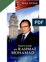 CV ProfDrRahmatMohamad