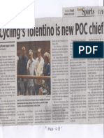 Business World, July 29, 2019, Cyclings Toentino is new POC chief.pdf