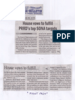 Manila Bulletin, July 29, 2019, House vows to fulfill PRRD's top SONA targets.pdf